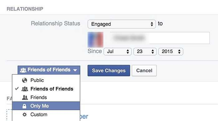 Tương tự, bạn có thể giữ các mối quan hệ cá nhận một cách không công khai với người dùng khác