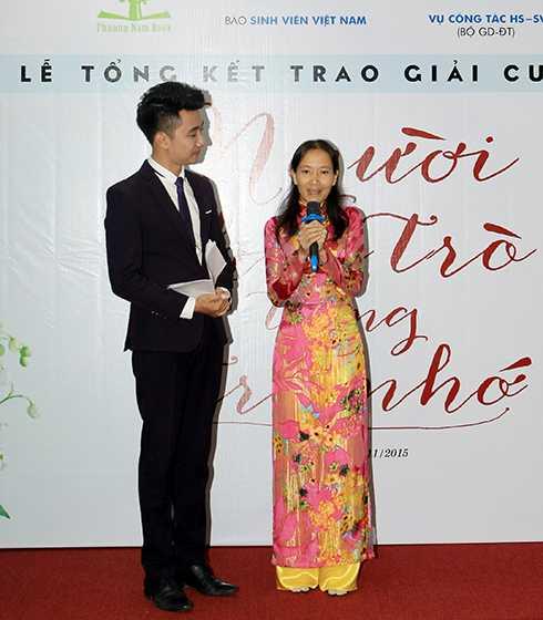 Cô Nguyễn Thị Mai Trâm xúc động kể về câu chuyện người học trò tên Liên