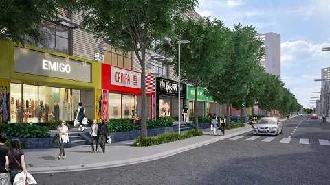 """Mô hình dựng của dự án sở hữu vị trí và thiết kế """"vàng"""" tại Thanh Xuân Nam."""