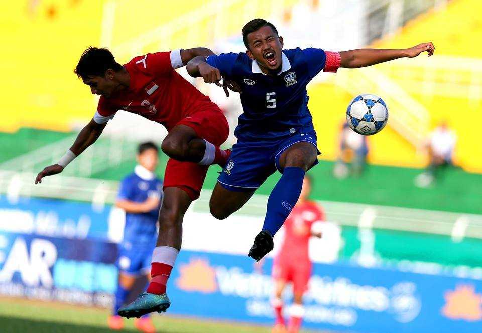 U21 Thái Lan 2-2 U21 Singapore