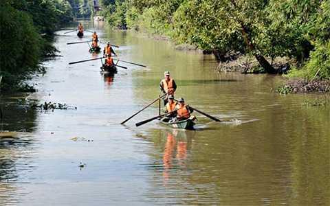 Quân khu 9, Huấn luyện trên sông nước, Trung đoàn 3, Cửu Long, Quân đội nhân dân, Việt Nam