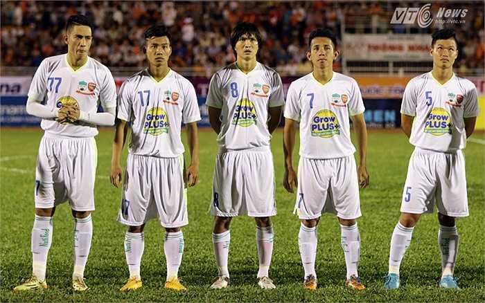 U21 HAGL gặp U19 Hàn Quốc ở trận đấu thứ 2 giải U21 Quốc tế Báo Thanh Niên 2015. (Ảnh: Quang Minh)