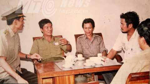 Lực lượng công an làm công tác dân vận với Khoái Đù