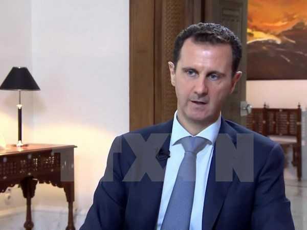 Tổng thống Syria Bashar al-Assad - Ảnh: TTXVN