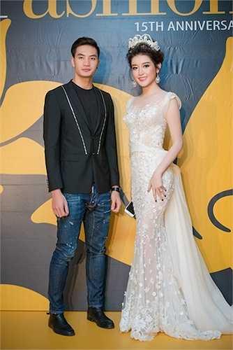 Huyền My vừa xuất hiện tại một sự kiện thời trang với tư cách khách mời và người mẫu trình diễn.
