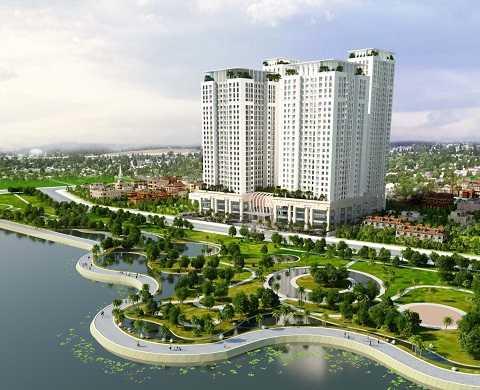 Phối cảnh tổng thể dự án Home City
