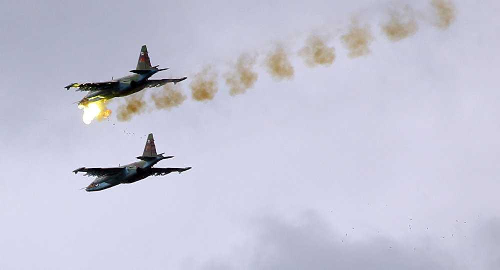 Chiến cơ Nga làm nhiệm vụ ở Syria