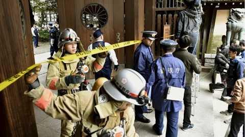 Cảnh sát phong tỏa khu vực xảy ra vụ nổ