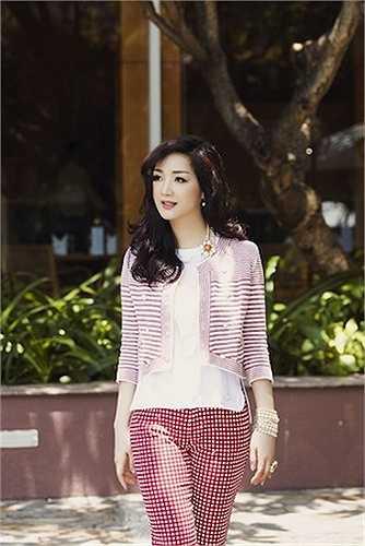 Giáng My đã từ lâu được mệnh danh là 'Người đẹp không tuổi' của showbiz Việt