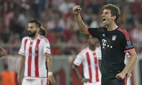 Bayern Munich từng vùi dập đối thủ ở lượt đi