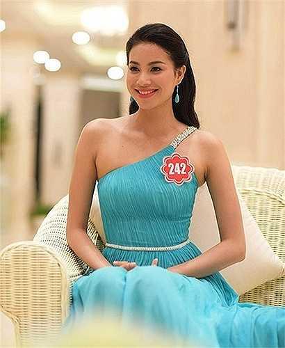 Trong cuộc thi Hoa hậu Việt Nam 2014, Phạm Hương cũng từng được đánh giá cao nhờ thân hình sexy.