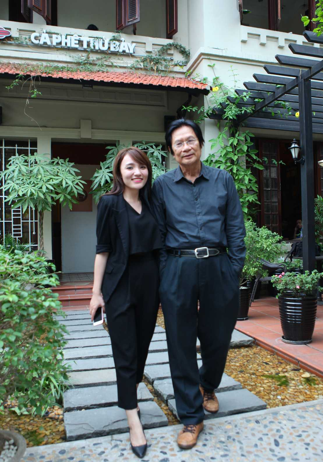 Nhạc sĩ Dương Thụ và ca sĩ Nhật Thủy