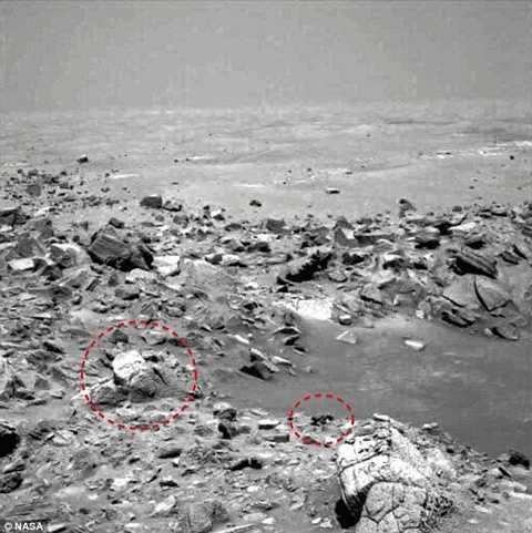Mới đây nhất, NASA đã công bố những hình ảnh cho thấy khuôn mặt của một vị Nabu thời xưa trên bề mặt sao Hỏa. Hình ảnh này khá rõ nét và người ta lại một lần nữa phải giật mình vì những phát hiện trên sao Hỏa