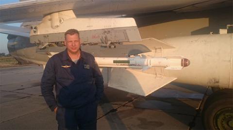 Sergei Rumyantsev, phi công được cho là đã chết sau khi máy bay Nga bị Thổ Nhĩ Kỳ bắn hạ