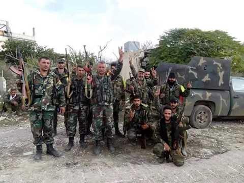 Binh lính Syria đến giải cứu phi công Nga