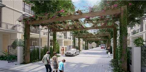 Dự án mới được kỳ vọng sẽ tạo ra nguồn cung lớn cho phân khúc biệt thự, liền kề nội đô.