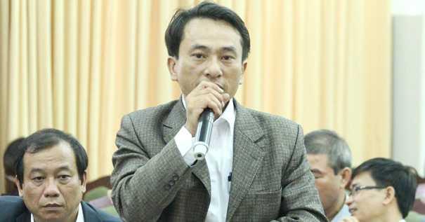 thạc sỹ Trần Trung Hiếu -giáo viên Sử Trường THPT chuyên Phan Bội Châu- Nghệ An