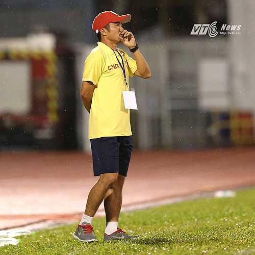 HLV Phạm Minh Đức sẽ trả món hận thua trận 1 năm trước tại Cần Thơ.(Ảnh: Quang Minh)