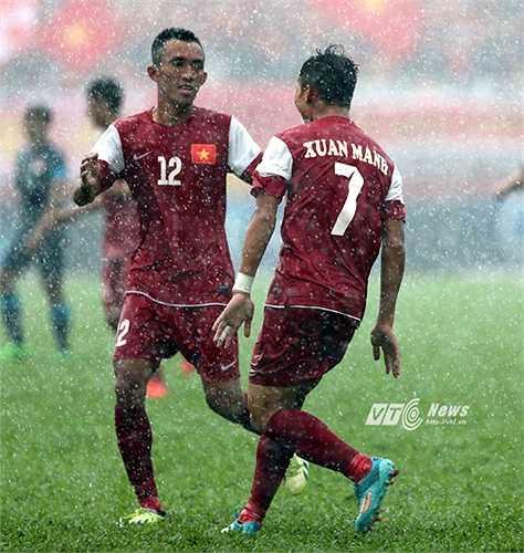 U21 Việt Nam hòa 0-0 trước U21 HAGL ở 2 hiệp chính. Họ thua U21 HAGL ở loạt luân lưu.(Ảnh: Quang Minh)