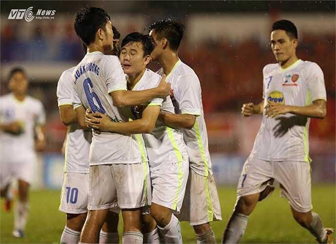 U21 HAGL bước vào giải U21 Quốc tế Báo Thanh Niên với tư cách nhà ĐKVĐ. Nhưng mục tiêu của họ còn nhắm tới những vị trí trong U23 Việt Nam. (Ảnh: Quang Minh)