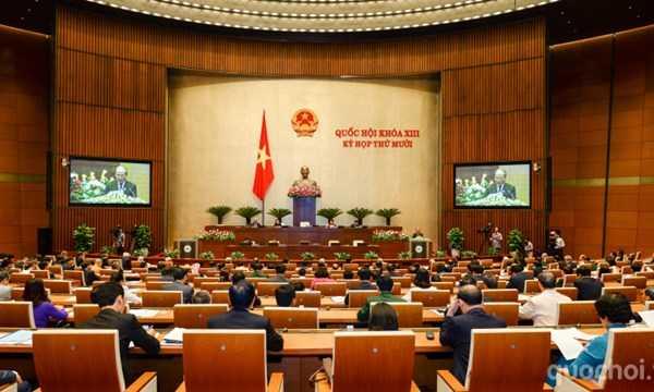 Một phiên họp Quốc hội (ảnh: Quochoi.vn)