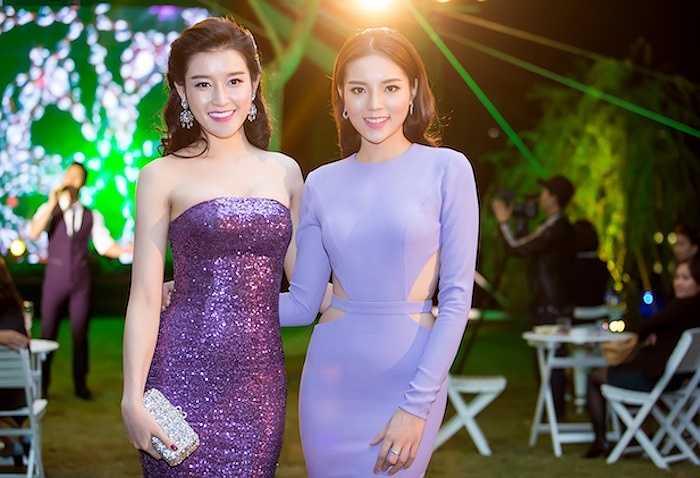Kỳ Duyên và Huyền My chỉ cách nhau 1 tuổi nên coi nhau như bạn bè từ khi cùng đăng quang hai danh hiệu cao nhất tại Hoa hậu Việt Nam 2014. Hiện tại, hai người đẹp còn là hàng xóm của nhau khi cùng sống tại một khu chung cư cao cấp ở Hà Nội.