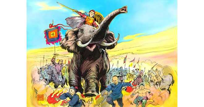 Bà Triệu , còn được gọi là Triệu Ẩu , Triệu Trinh Nương, Triệu Thị Trinh , Triệu Quốc Trinh(225–248), là một trong những vị anh hùng dân tộc trong lịch sử Việt Nam.