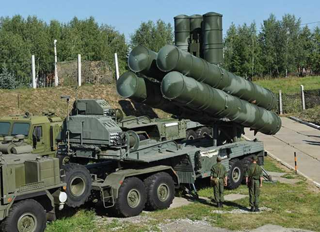 Hệ thống tên lửa phòng không hiện đại S-400