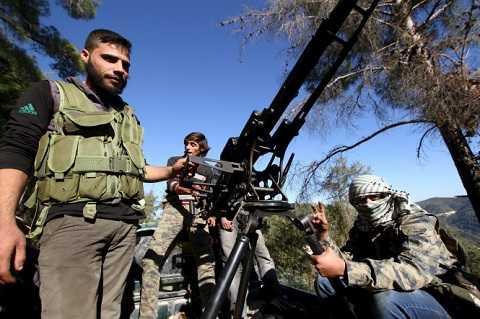 Quân nổi dậy Turkmen hoạt động gần biên giới Syria - Thổ Nhĩ Kỳ