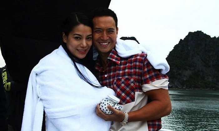 Kim Lý và Trương Ngọc Ánh quen nhau khi cả hai đóng chung dự án phim hành động 'Hương Ga'.
