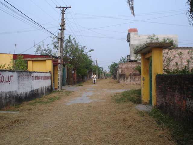 Một góc làng Thanh Phần