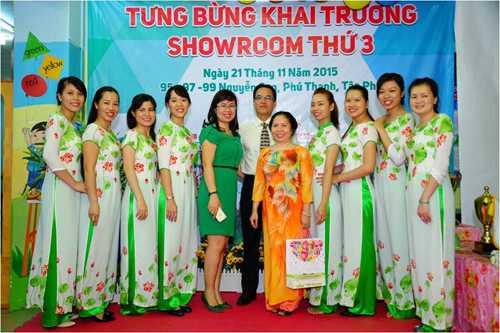 Dầu tràm Cung Đình khai trương showroom thứ 3 tại TP HCM.