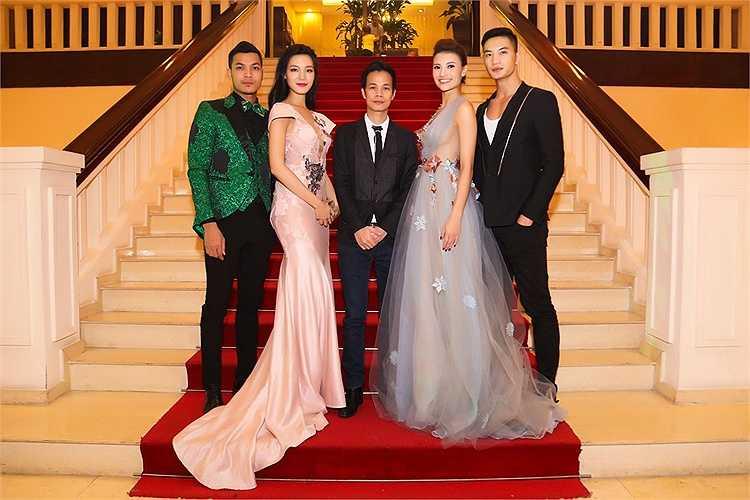 Hồng Quế và Hoa hậu Thùy Dung đọ sắc.