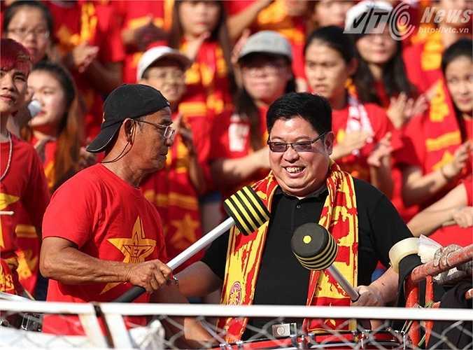 Chủ tịch Hội CĐV Việt Nam, ông Trần Song Hải