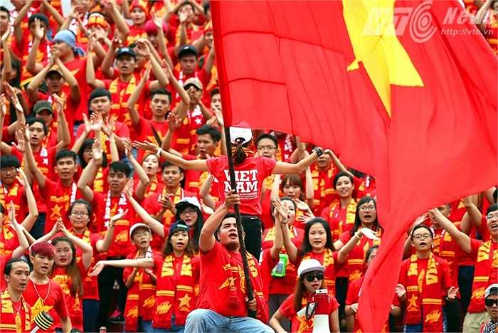 Giải U21 quốc tế sau thành công ở Cần Thơ năm ngoái, tiếp tục chứng tỏ sức hút ở TP.HCM. (Ảnh: Quang Minh)