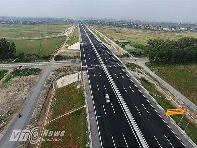 Tuyến cao tốc dài 105 km chạy qua địa phận các tỉnh, thành phố gồm: Hà Nội (6 km), Hưng Yên (26 km), Hải Dương (40 km) và Hải Phòng (33 km).