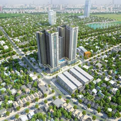 Goldsilk Complex được coi là dự án cao cấp nhất khu vực Hà Đông