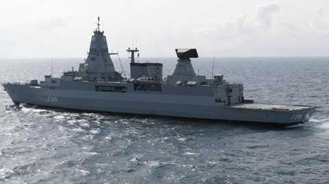 Tàu chiến Sachsen của Đức sẽ hỗ trợ tàu sân bay Charles de Gaulle của Pháp diệt IS