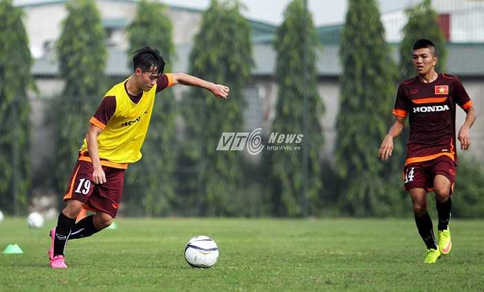 Văn Toàn sẽ là niềm hy vọng mới ở hàng công U23 Việt Nam nhờ sự xông xáo, tốc độ.