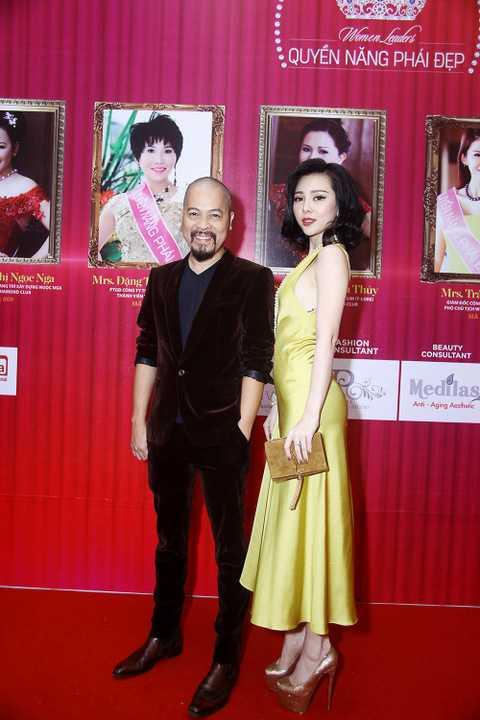 Xuất hiện tại sự kiện này có quý bà Thu Hương, diễn viên Mai Thu Huyền, Hoa hậu quý bà Hoàng Yến, NTK Đức Hùng.