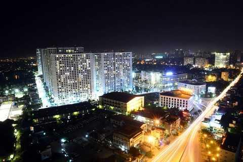 Tuyến đường đầu tư mới sẽ giảm tải giao thông cho đường Lĩnh Nam và đặc biệt là quanh khu vực chân Cầu Vĩnh Tuy gần Khu đô thị Times City. Ảnh: Anh Tuấn
