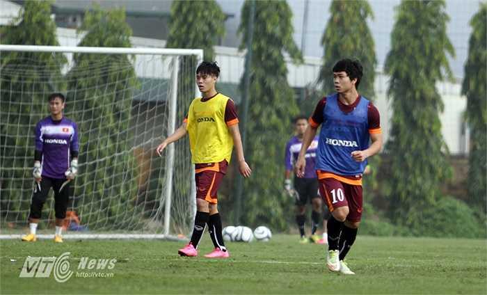 Công Phượng, Văn Toàn trên tuyển U23 Việt Nam