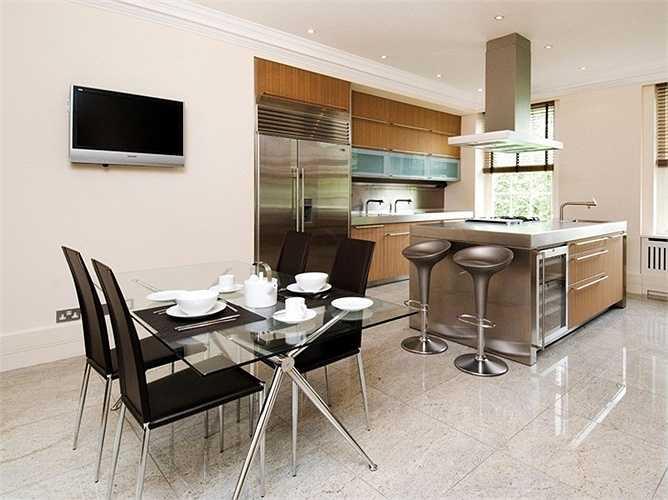 Nội thất trong căn hộ hai phòng ngủ ở Notting Hill, South Kensington, Shepherds Bush hay Bayswater có giá 770-924 USD/tuần.