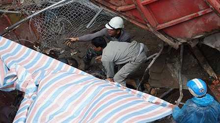 Lực lượng cứu hộ tìm thấy thi thể người bị nạn