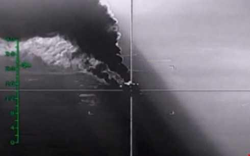 Không quân tấn công một mục tiêu ở Syria