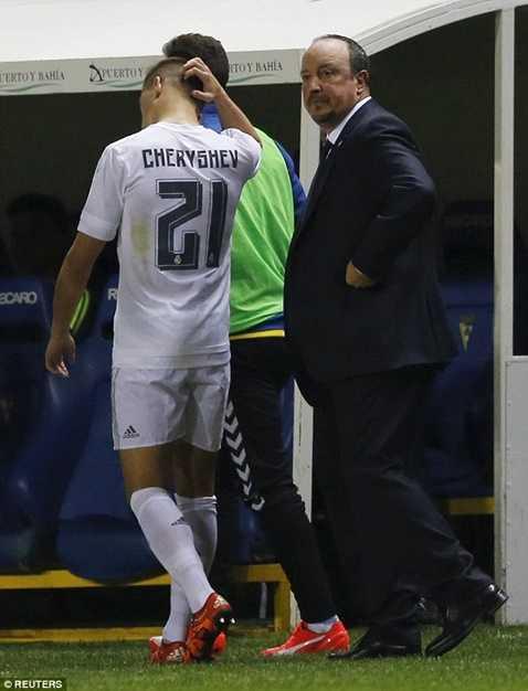 Vì sai lầm dùng Cheryshev, Real Madrid đã mất 1 danh hiệu