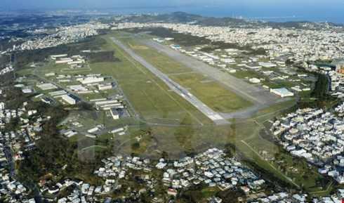 Căn cứ không quân Futenma tại Ginowan, tỉnh Okinawa