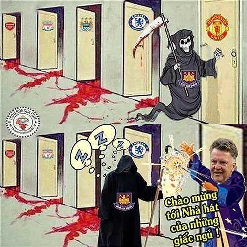 Kể từ ngày dẫn dắt Man Utd và đặc biệt là từ mùa giải 2015-16 này, HLV Louis Van Gaal có lẽ đã ru ngủ thành công cả triệu khán giả là fan Man Utd