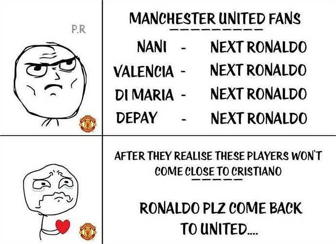 Fan Man Utd có lẽ rất nhớ những pha bóng tốc độ của Cristiano Ronaldo trước kia