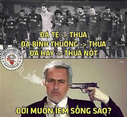 Không thích ngủ và rất cố gắng để không ngủ nhưng Jose Mourinho cùng Chelsea vẫn liên tục thua trận